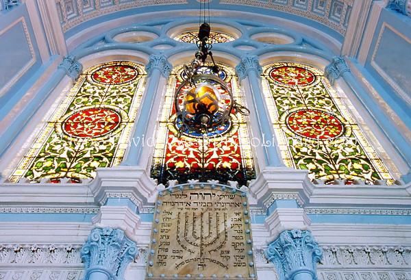INDIA, Mumbai (Bombay). Keneseth Eliyahoo (Gathering of Elijah) Synagogue (1884). (2009)