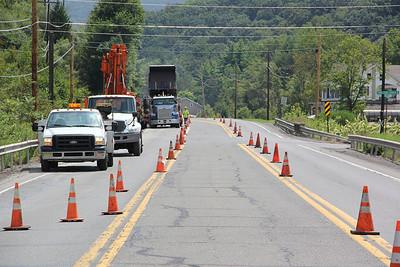 Bridge Work to Start, SR309, West Penn, near Snyders (8-20-2012)