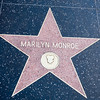 Marilyn Monroe's star on Hollywood Blvd.