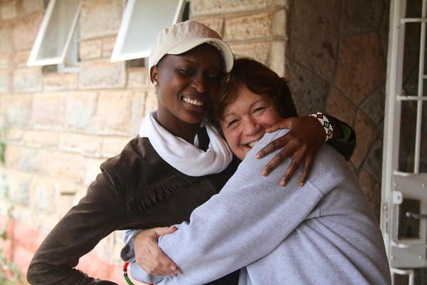 Kenya 2013: Joy and Christine