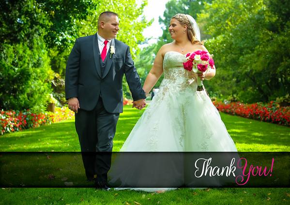 Brittany & Joe Wedding - Thank You Cards