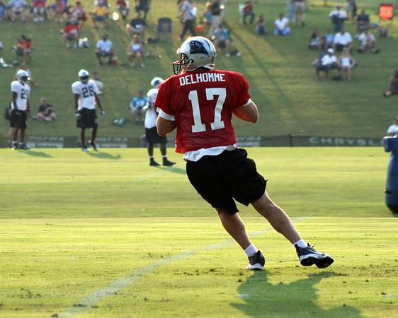 Carolina Panthers @ Training Camp Spartanburg S.C. 8-13-07