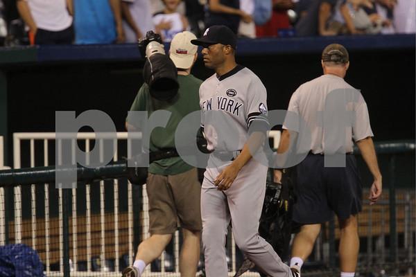 MLB-Kansas City Royals vs New York Yankees 8-13-10