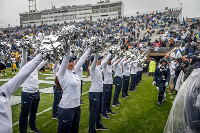 2018 Penn State vs  Iowa Lionette Photos