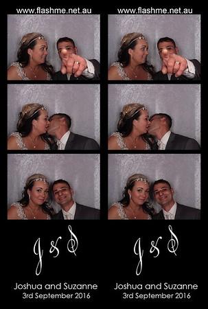 Joshua & Suzanne's Wedding - 3 September 2016
