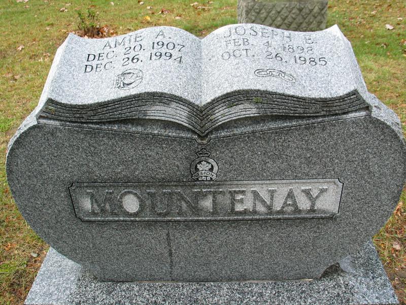 Amie A. and Joseph E. Mountenay