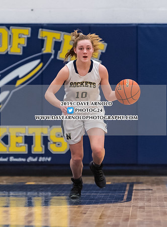 1/15/2019 - Girls JV Basketball - Wellesley vs Needham