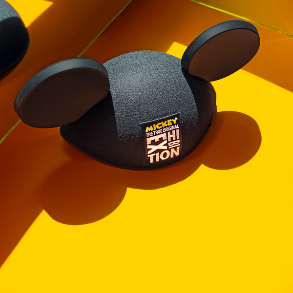 Logo Ear Hat   Mickey: The True Original Exhibition Collection