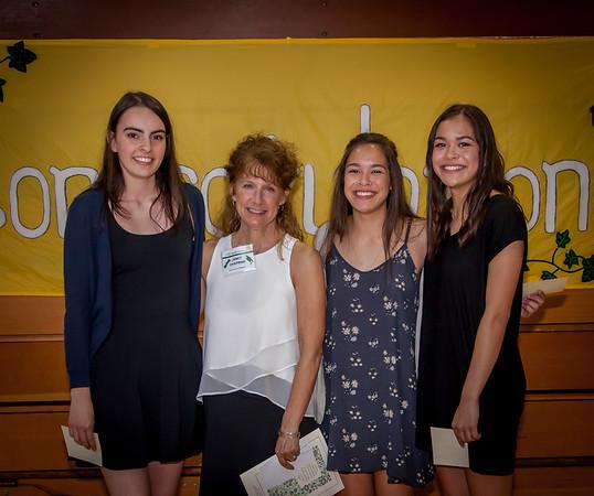 Awards Set one: Vashon Island Community Scholarship Foundation Awards 2016