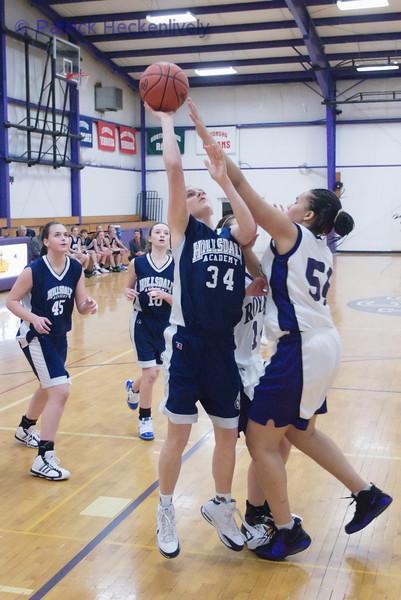 2011-01-20 Lady's JV And Varsity Basketball