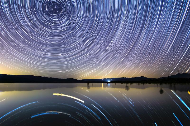 Lake Henshaw Star Trails
