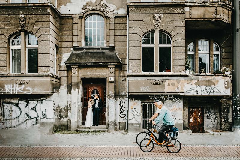 Berlin urban wedding photographer / Urbane Hochzeit Berlin
