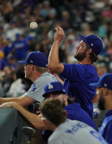 Dodgers at Rockies 7/16/21