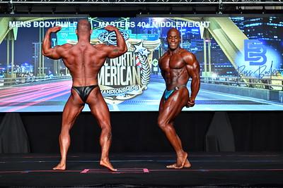 Men's Bodybuilding Masters 40+ MW