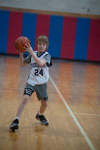 Mateo's basketball game