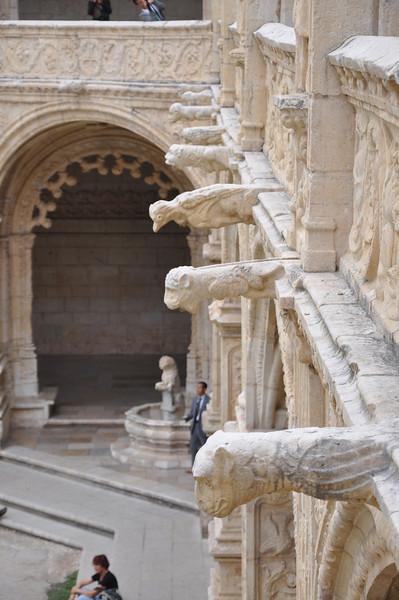 Gargoyles at Belem Monastary