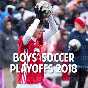 Prairie Boys Soccer Playoffs 2018