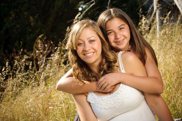 Melissa and Jenna (Family Photography, Lighthouse Field, Santa Cruz, California)