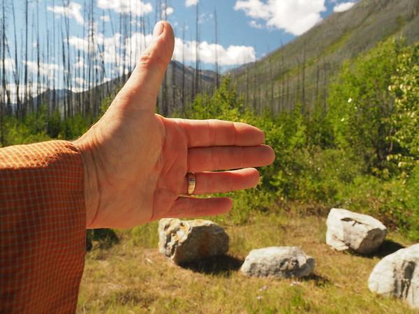 Hawk Creek to Ball Pass - July 18, 2015