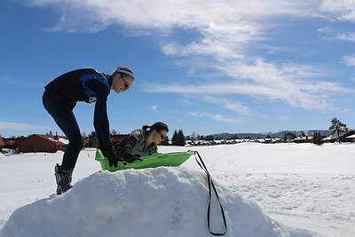 Skiing in Colorado - March 2015