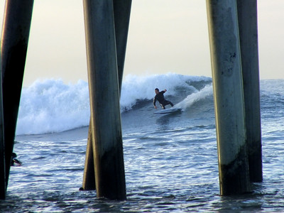 1/28/21 * DAILY SURFING PHOTOS * H.B. PIER