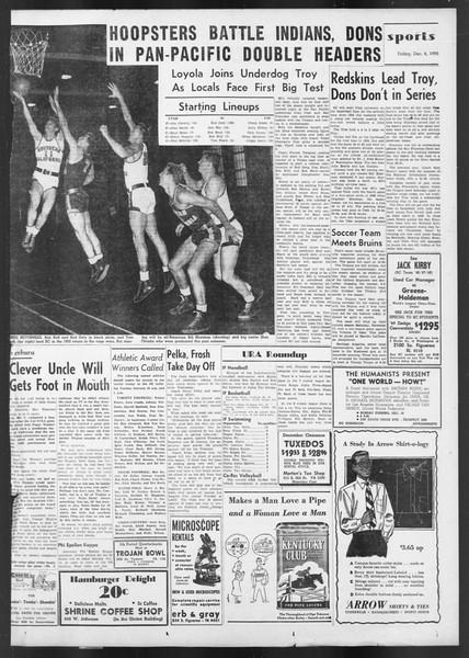 Daily Trojan, Vol. 42, No. 57, December 08, 1950