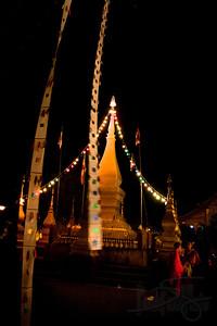 Buddhist Temple. Luang Prabang, Lao PDR.
