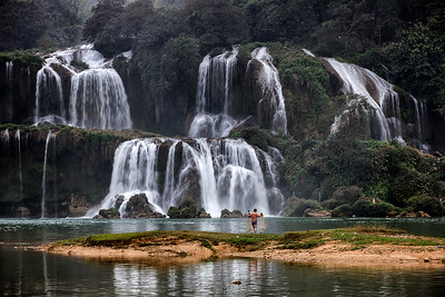 Northern Vietnam/Ban Gioc Waterfalls