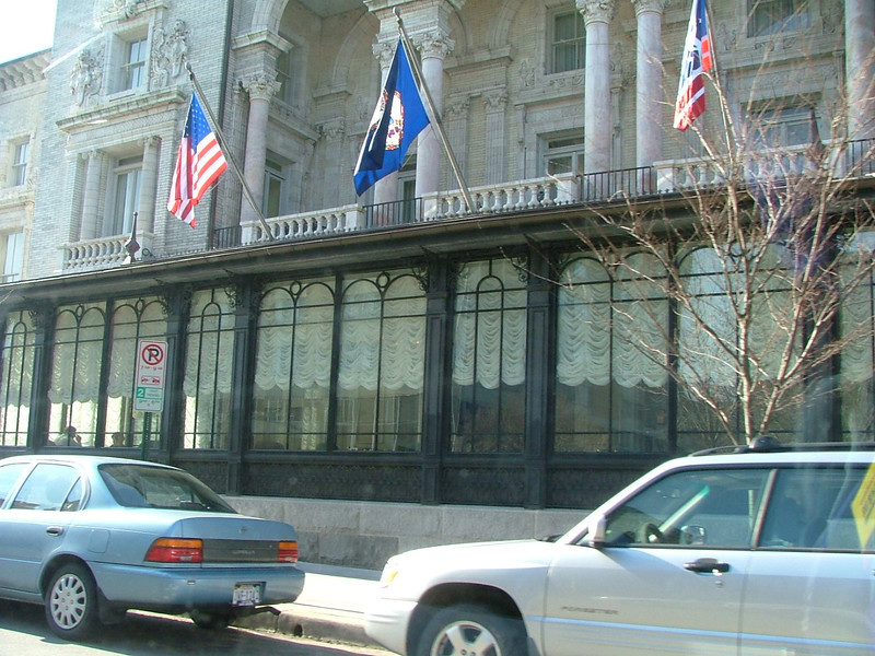 "The Jefferson Hotel - Where Al & Eve's wedding reception was held. Al said, ""Those were strange and wonderful times; th"