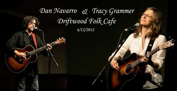 Tracy Grammer & Dan Navarro at Driftwood Folk Cafe