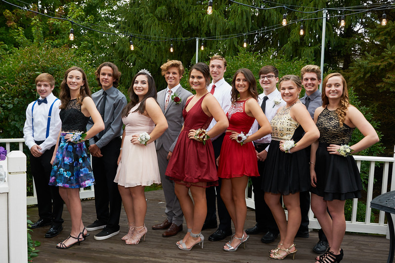 Junior year homecoming, Isabel, Max and friends! 2016