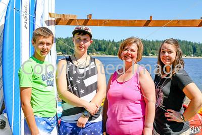 Roben, Hailee, Noah, Braeden & Sharyl 7-29-17