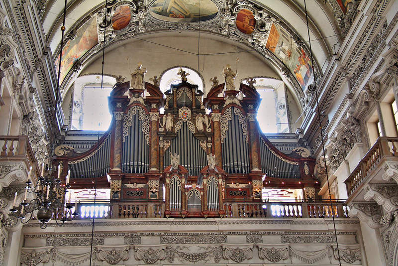 Salzburg Cathedral, Salzburg, Austria.