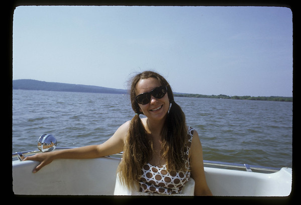 Debbie Water Skiing 1972