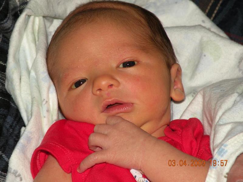 Michael Scott Lindsey  2 1/2 weeks old
