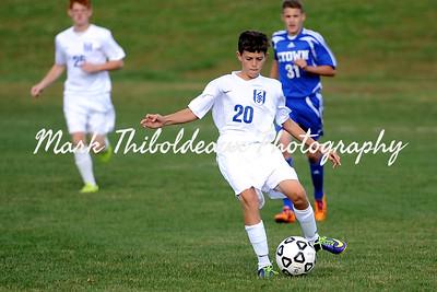 Lampeter-Strasburg Boy's JV/V Soccer v. Etown 10.8.14