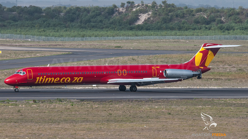 1Time McDonnell Douglas MD82 ZS-TRF