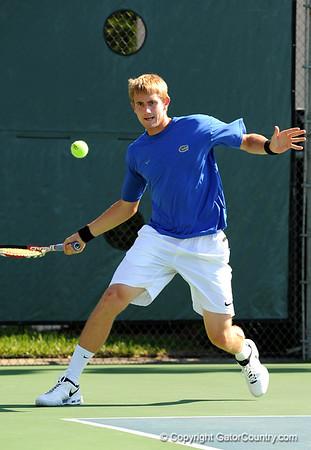 Photo Gallery: UF Men's Tennis vs. Marist, NCAA 1st round, 5/8/09