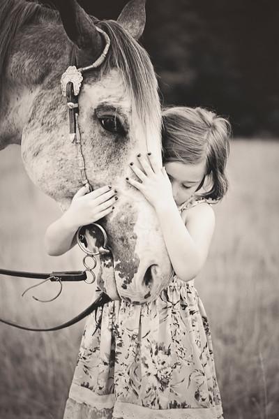 2019 June Madeline with Elle Horse-5 BW.jpg