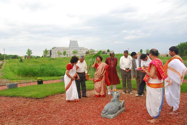 Memorial Garden Pooja for Desecrated Icons