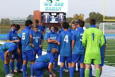 Boys Varsity soccer vs Apple Valley