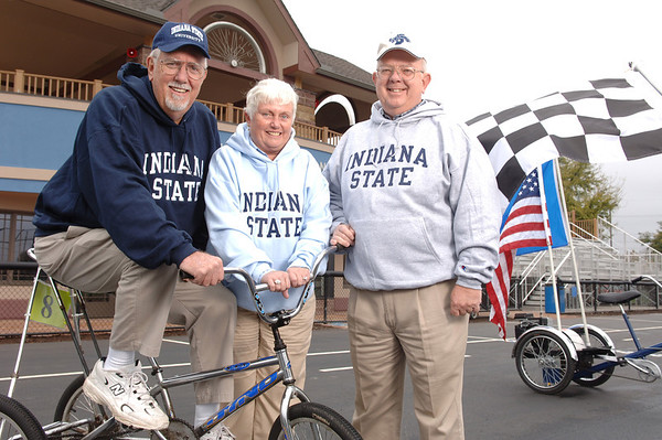Historical trike race