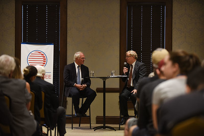 Ambassador Christopher R. Hill speaks to the The Tennessee World Affairs Council