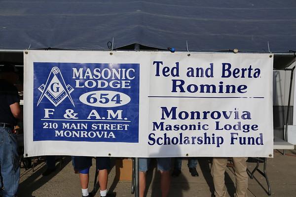 Monrovia Masonic Lodge No 654 Car Show 09-07-2019