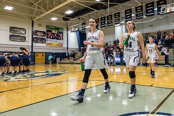CC Varsity Girls Basketball vs Fountain Central 2016-12-20