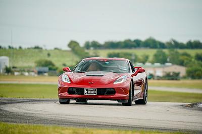 Red C7 Corvette