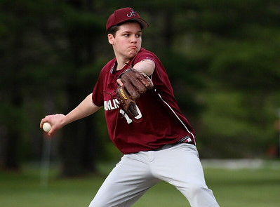 AMHS Varsity Baseball vs SMS photos by Gary Baker