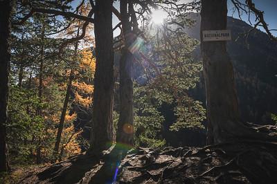 Hiking Engadin October 2019
