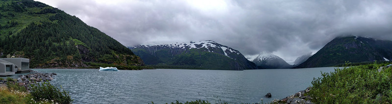 Portage Glacier from the Visitor Center