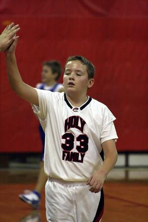 Holy Family Hawks 6th Grade Basketball vs St. Paul